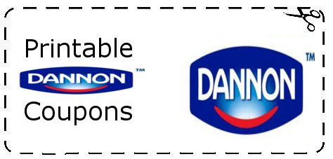 photograph about Yogurt Coupons Printable named Printable Grocery Coupon codes: Dannon Yogurt Discount codes