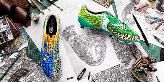 botas de fútbol adizero f50 Yohji Yamamoto edicion limitada