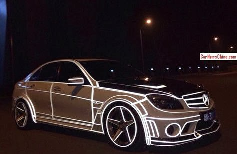 Bodyworks Mercedes - Benz C63 AMG Can Lights in the Dark!
