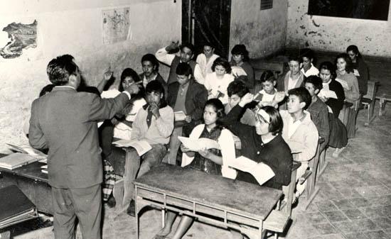 Educaci n y sociedad qu ense ar y c mo aprender - Salones antiguos ...