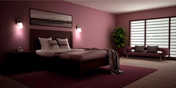 Desain kamar tidur romantis 2