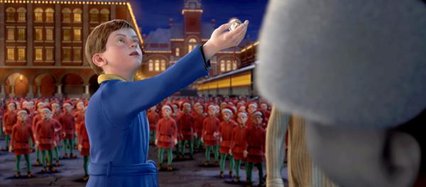 Boy with sleigh bell Polar Express 2004 animatedfilmreviews.blogspot.com