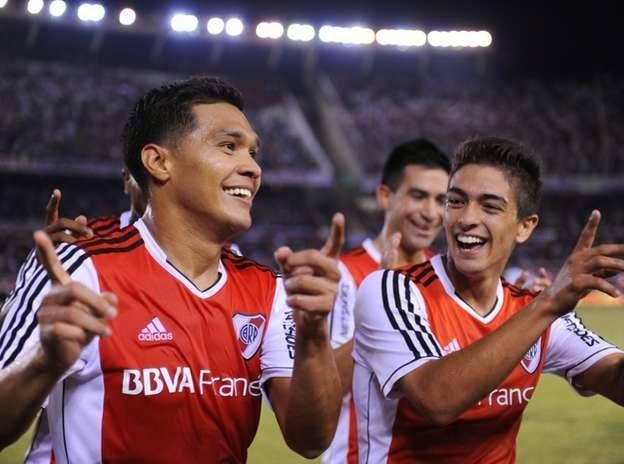 Teo Gutiérrez, Teófilo Gutiérrez, Teo, Gutiérrez, Gol, Velez, River Plate, River, Torneo Final, Punta del Campeonato, Puntero, Punteros,
