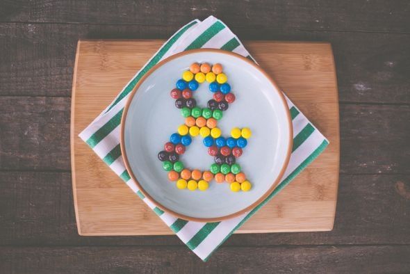 Emily Blincoe photography funny this and that ampersand M&Ms