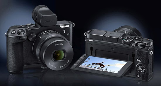 electronic image stabilization, Nikon 1 V3, mirrorless camera, Full HD video, Wi-Fi, touch screen LCD, Hybrid AF System, creative mode,