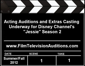 Disney Channel Jessie Auditions Extras Casting