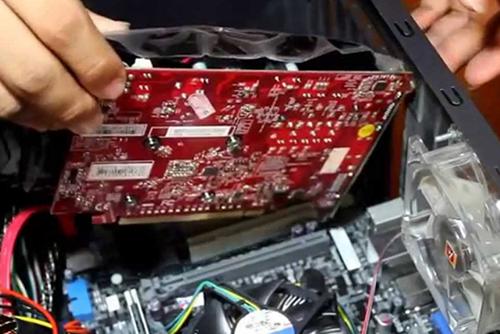 Memasang Video card