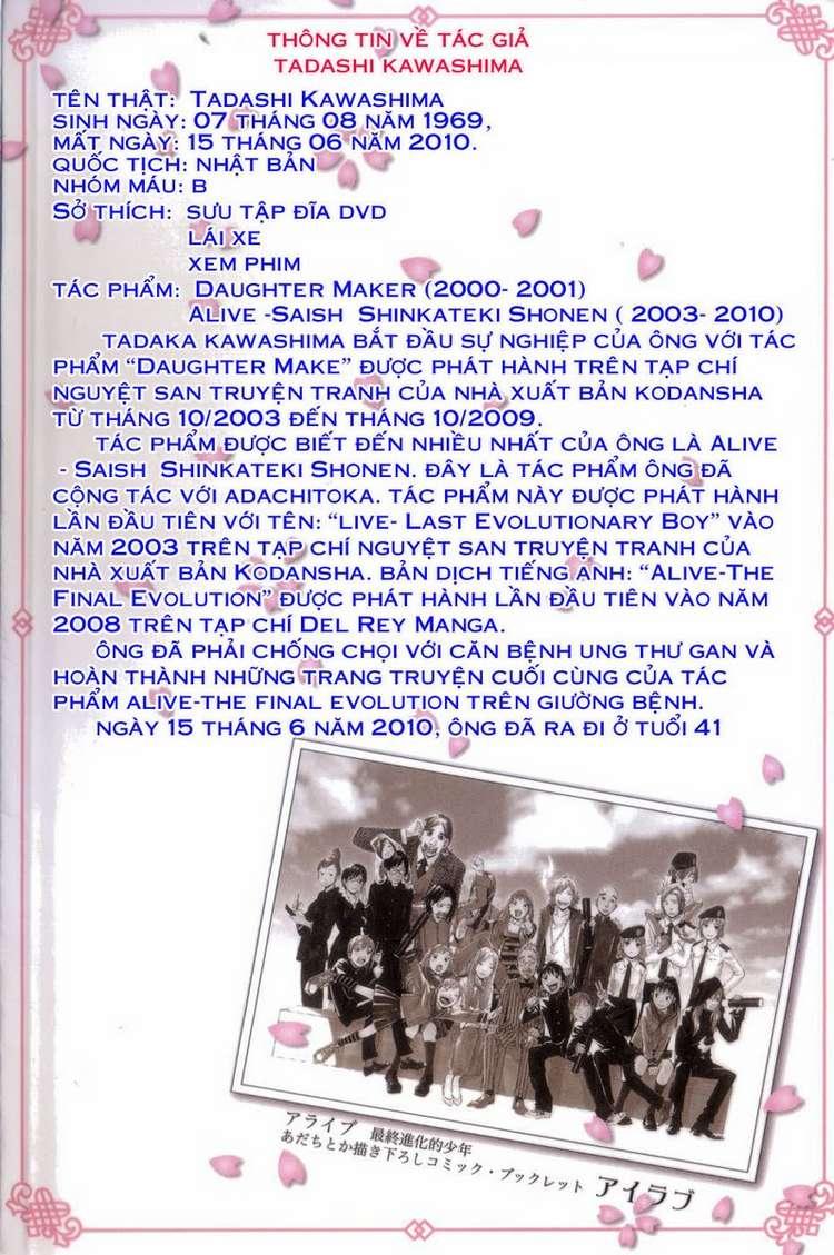 Alive – The Final Evolution chap 82 – End Trang 48 - Mangak.info