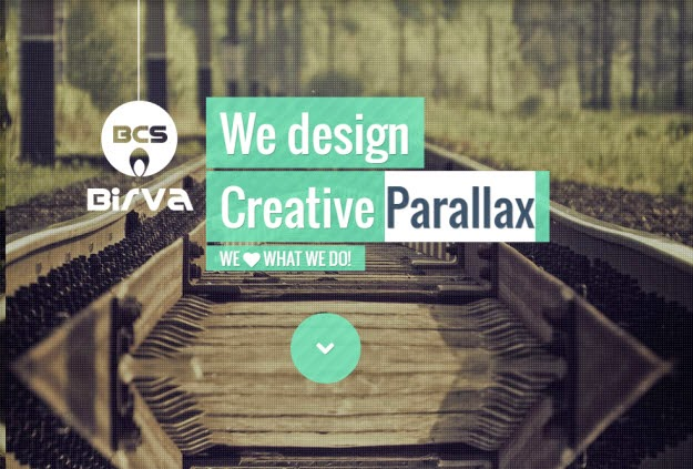 Creative One Page Drupal Theme