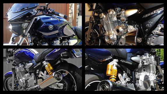 Yamaha XJR 1300 Galaxy blue