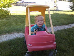Driving In His Car!