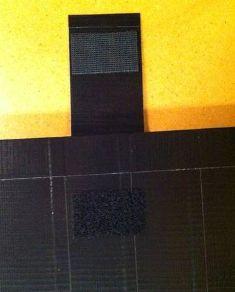Pemasangan Velcro