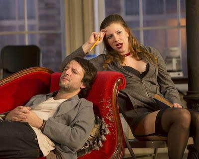 Mark Alhadeff and Jenni Putney in Venus in Fur, Philadelphia Theatre Company - Photo Credit Frank Wojciechowski