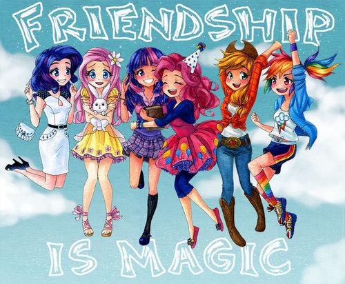 My little pony friendship is magic fan blog my little human - My little pony en humain ...