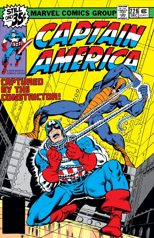 Captain America (1968) Issue #228 #142 - English 1