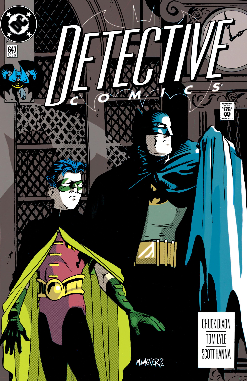 Detective Comics (1937) 647 Page 1