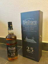 Benriach 25 years old -  Winner of Gold Medal 2012