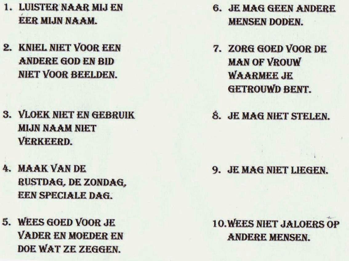 10 geboden in kindertaal #pxr17 - agneswamu