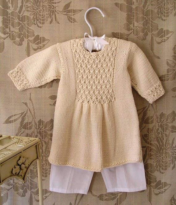 robe-panneau-smocks-tricot
