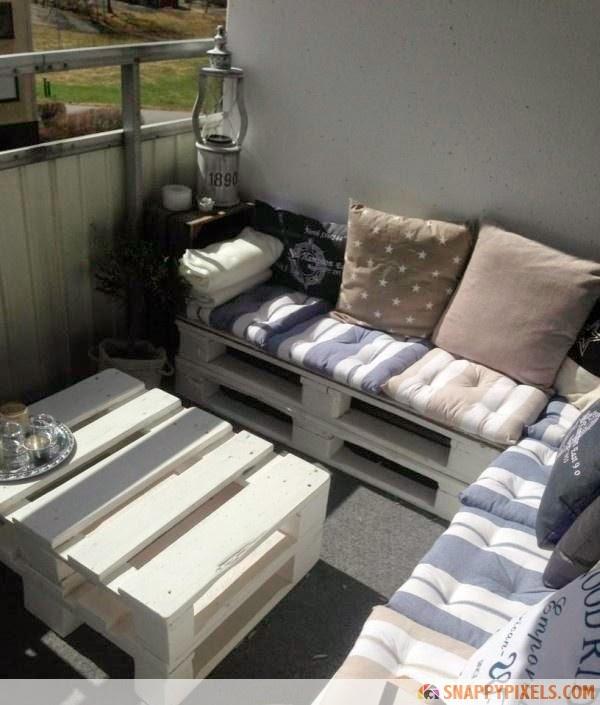 40 objetos incre bles hechos con estibas recicladas - Muebles hechos con estibas ...