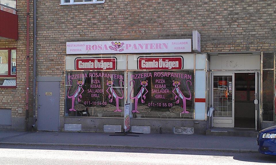 rosa pantern norrköping