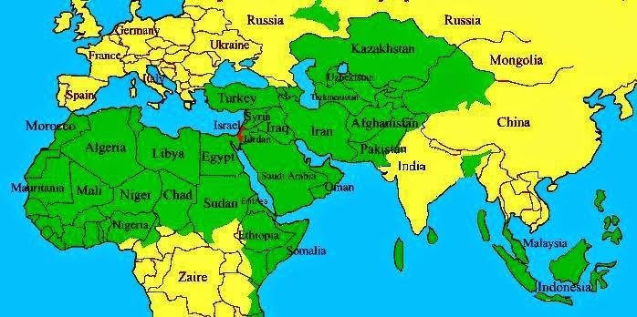 ... BLACK BANNER: Membaca Peta Dunia 50 Tahun yang Akan Datang (2-Habis