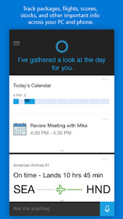 Microsoft's personal digital assistant Cortana now available for Android and iOS