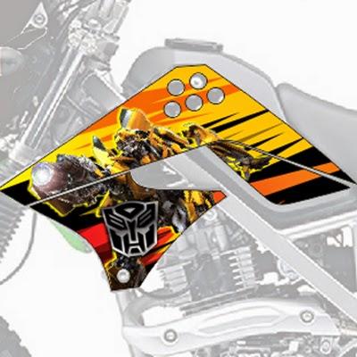 klx bumblebee transformers bengkeldecal.com