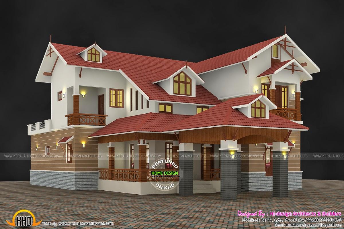 2800 sq-ft 4 bhk modern house