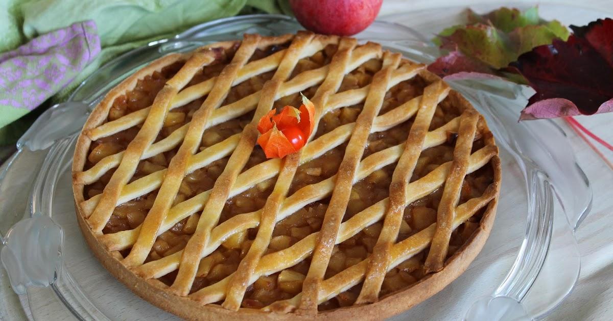 L 39 all e des desserts tarte la compote de pommes cannelle - Tarte aux pommes compote maison ...