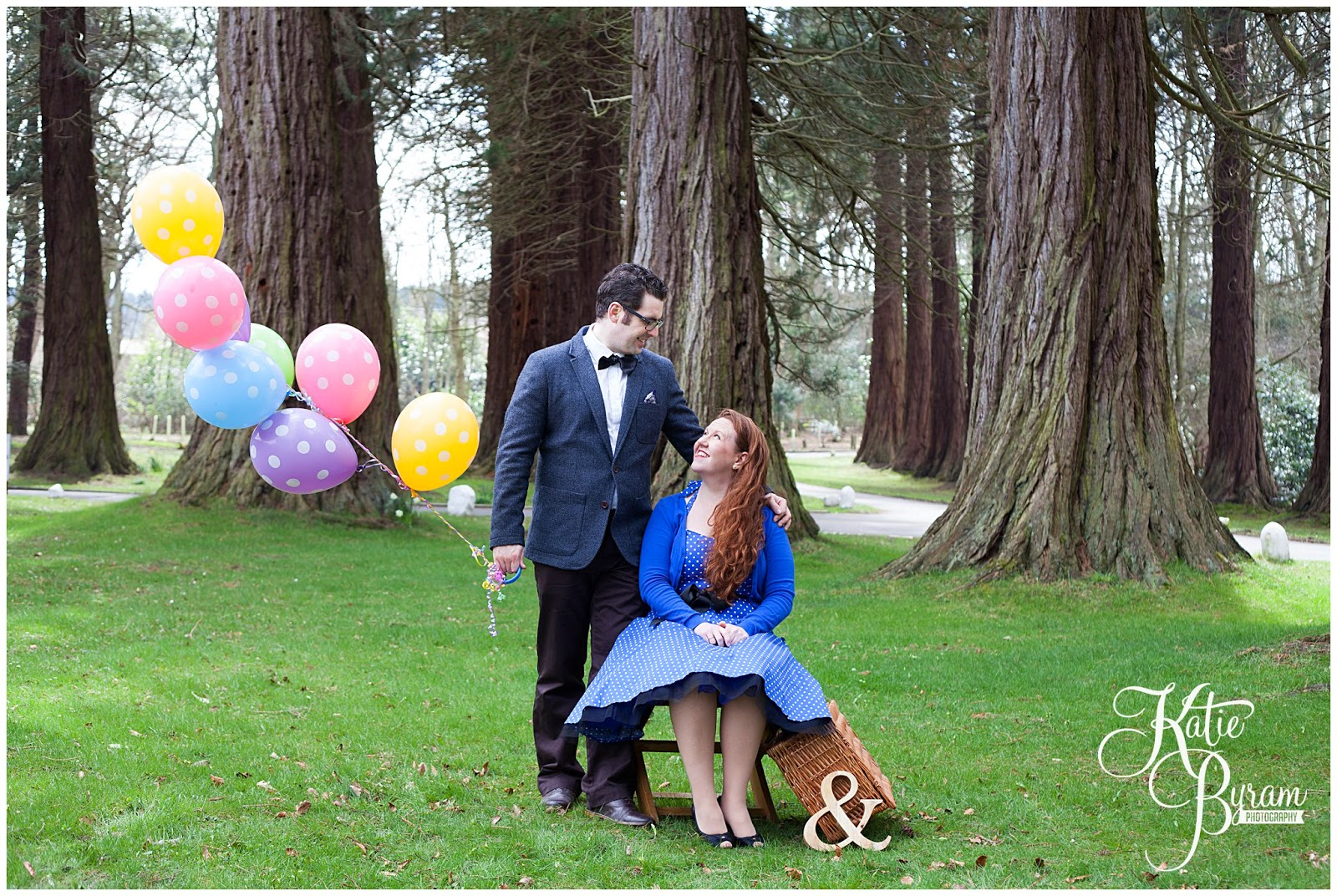 balloons engagement, disney up engagement shoot, minsteracres wedding, lord crewe arms blanchland, northumberland wedding, quirky wedding photography, disney wedding, dogs at wedding