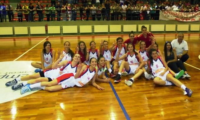 Συγχαρητήρια για την διοργάνωση του Πανελληνίου Κορασίδων από τον Κρόνο Αγίου Δημητρίου