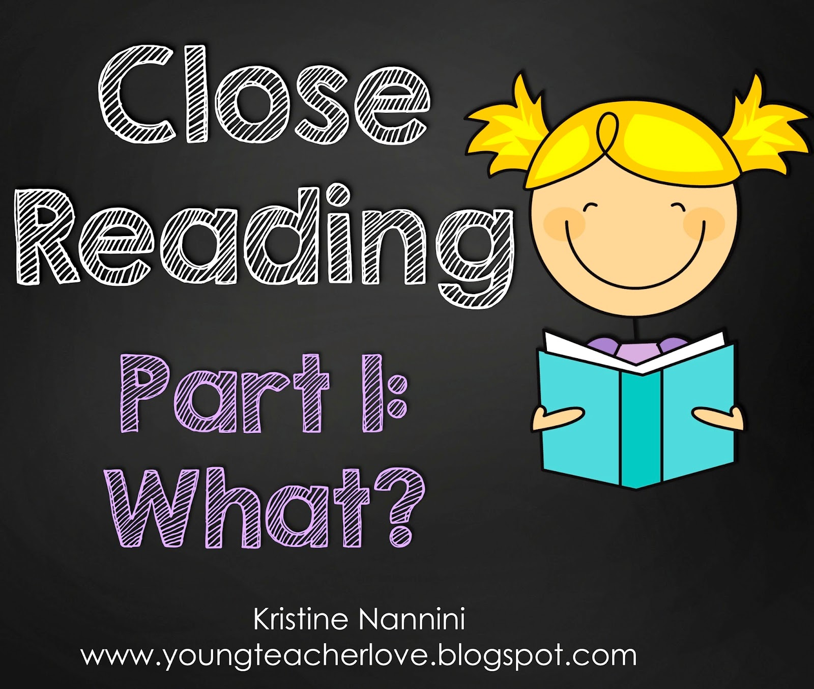 Close Reading Passages, Text-Dependent Questions & More- Young Teacher Love by Kristine Nannini