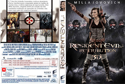 Resident Evil 5: Retribuição – Torrent BluRay 1080p 3D (2012) Dublado