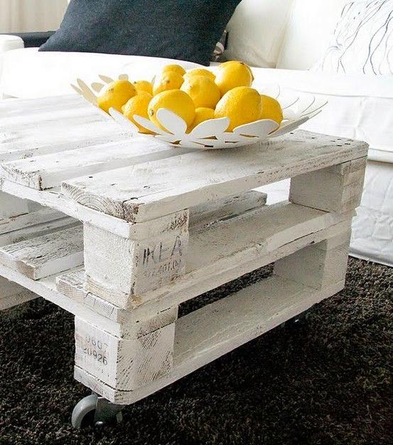 meja palet kayu