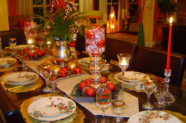 Merry christmas new wallpapers allfreshwallpaper - Christmas dinner decorations pictures ...