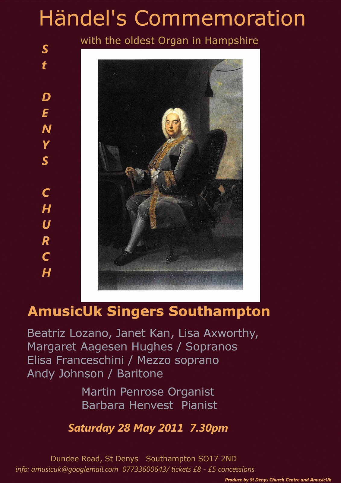 Amusicuk Group H 228 Ndel S Commemoration Quot With The Oldest