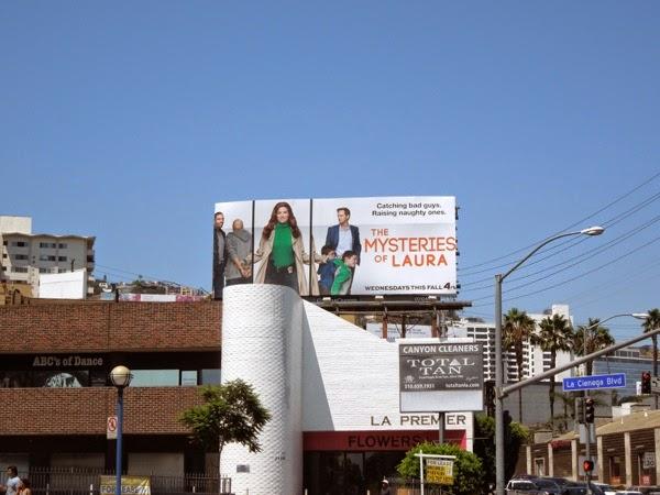 Mysteries of Laura NBC billboard
