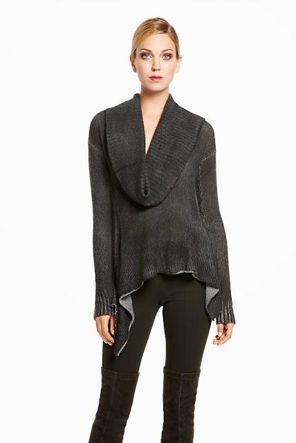 вязаный свитер 2013 Donna Karan