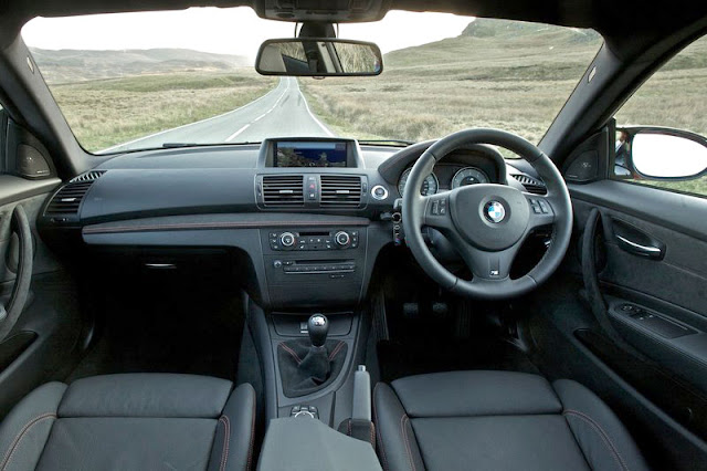 2011 BMW 1 series M coupe Front Interior rear view