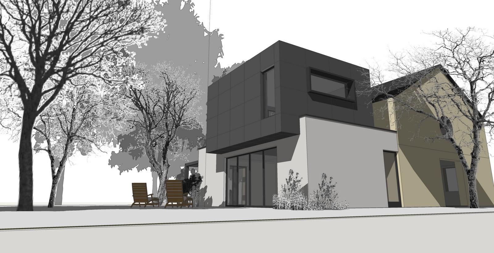 Ac architecture annexe maison etalle for Annexe maison