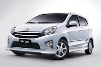Harga Mobil, Toyota Agya, Murah, 2012, 2013, 2014, 2015