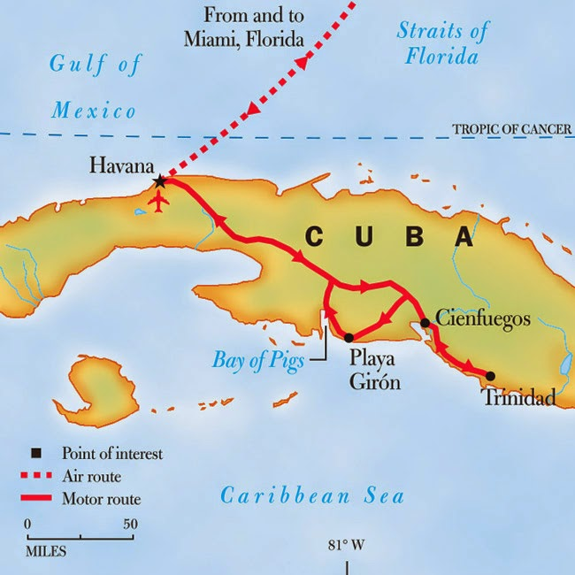 how to travel to cuba from miami