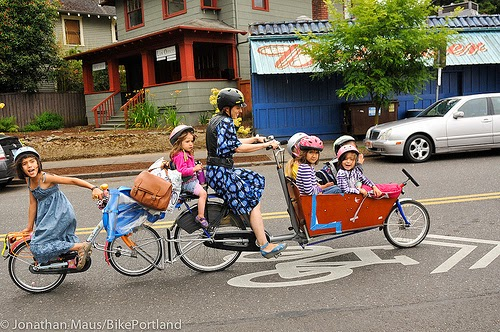 velo enfant transport portland