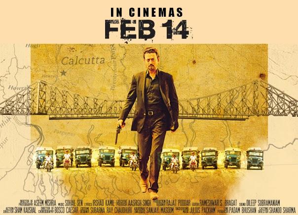 Irrfan Khan as A.C.P. Satyajeet Sarkar in Gunday movie
