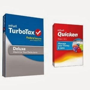 Turbotax Quicken Deluxe Bundle