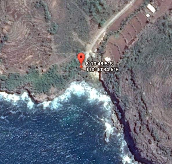 Koordinat Lokasi Pantai Jogan_siparjo.com