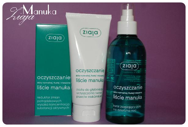 kosmetyki ziaja seria oczyszczająca