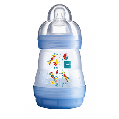 MAM Anti Colic Bottle Blue