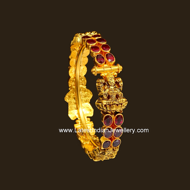 Ruby Antique Lakshmi Bangle